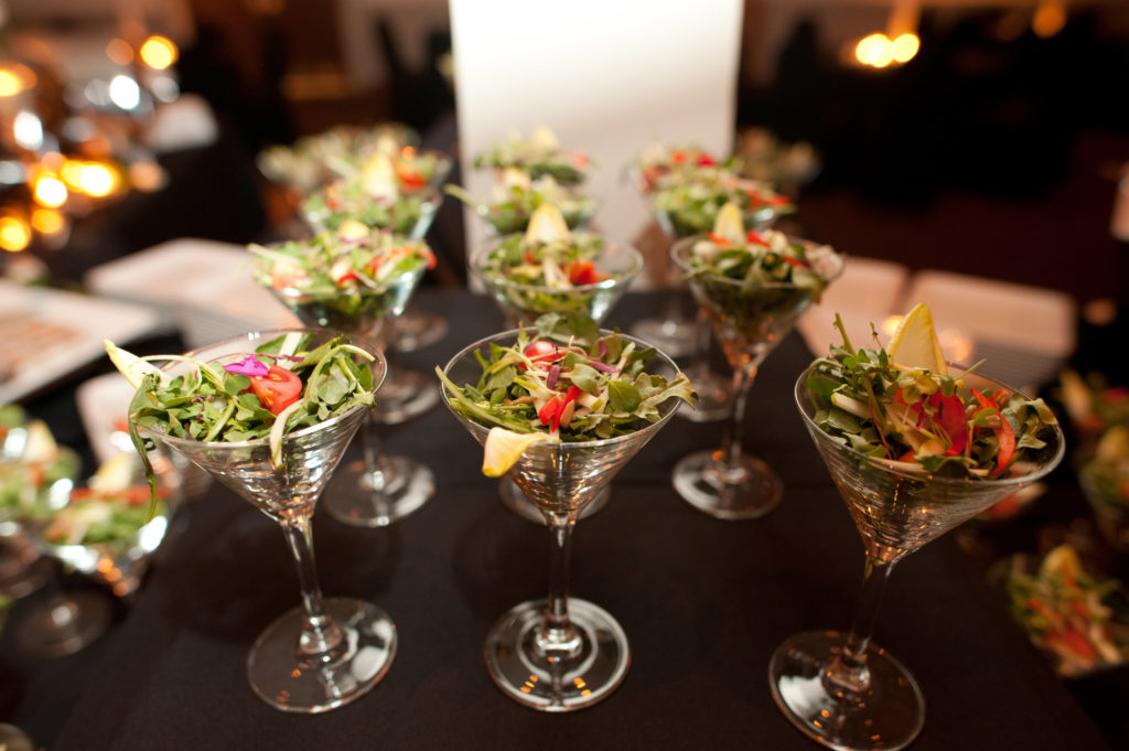 Catering Salad Cups