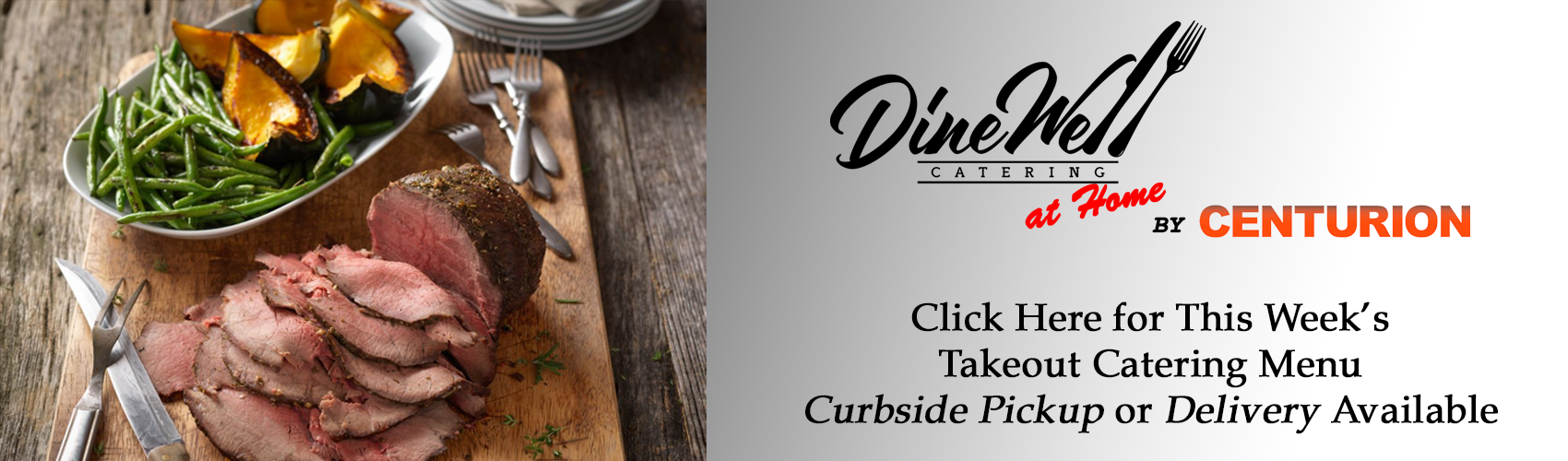 TAKEOUT Catering Header